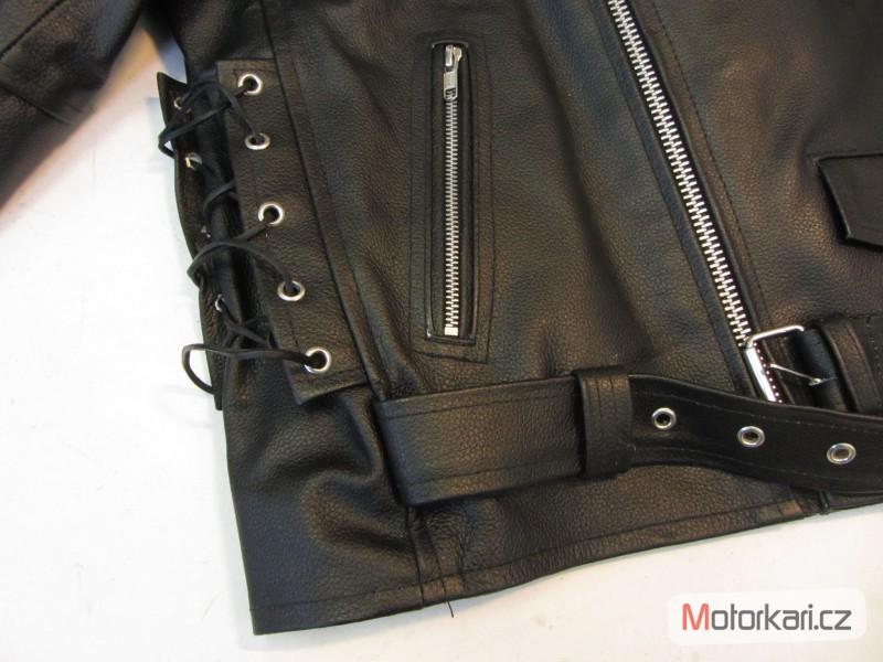 ... Detailní foto č.3 Křivák - kožená bunda na motorku RSA ... f7d2e29c31c