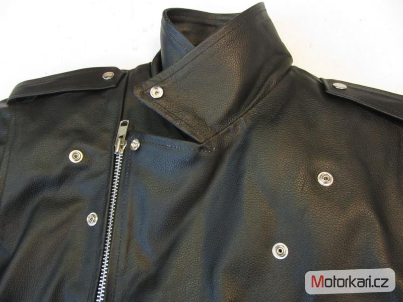 ... Detailní foto č.4 Křivák - kožená bunda na motorku RSA ... 8fdc744b23