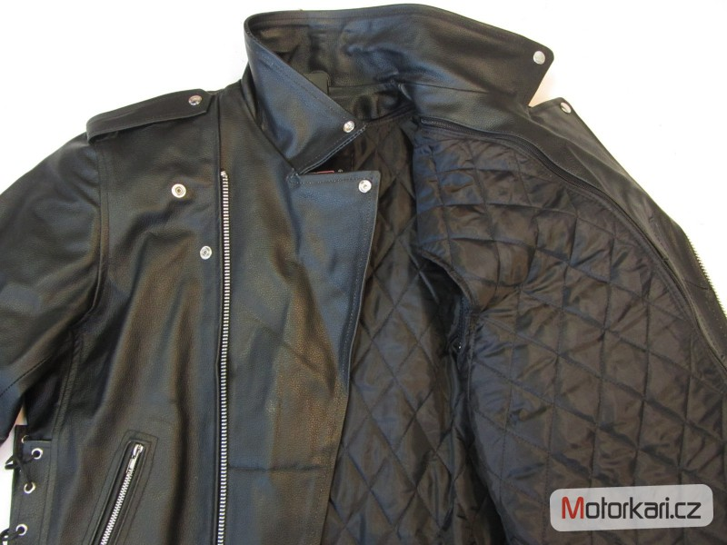 13dc9b248998 ... Detailní foto č.5 Křivák - kožená bunda na motorku RSA ...
