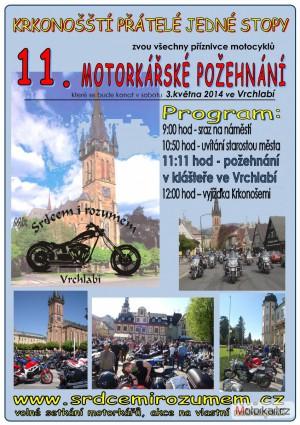 11. Motorkáøské požehnání ve Vrchlabí