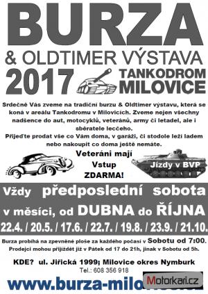Burza & Oldtimer výstava tankodrom Milovice