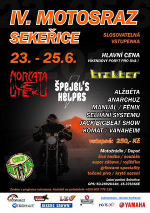 IV. Motosraz Sekeøice 2017