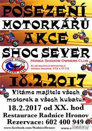Motorkáøské posezení SHOC kraje sever