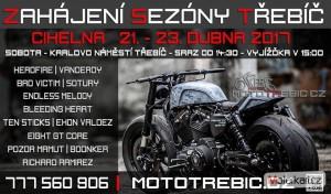 Záhájení Moto Sezóny Tøebíè 2017