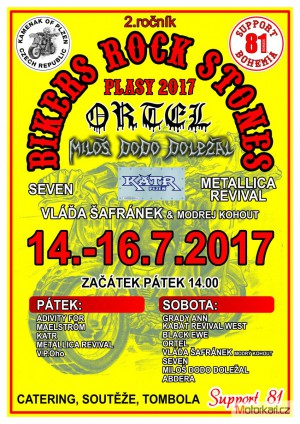 2.Bikers Rock Stones Plasy 2017