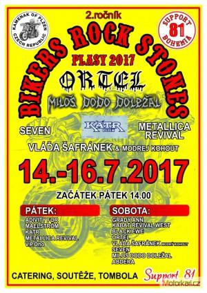 2.Bikers Rock Stones Plasy 2017