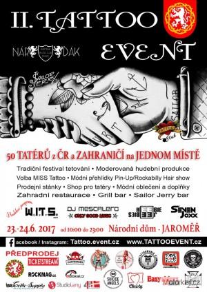 II. Tattoo Event Jaromìø 2017