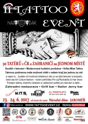 II. Tattoo Event Jaromìø 2017