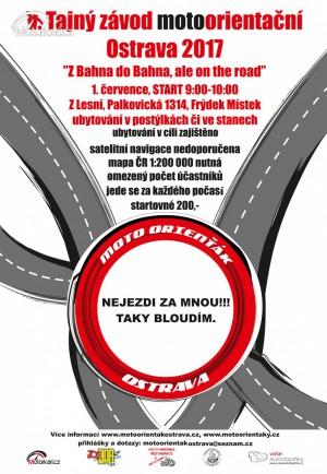 V. Motoorien��k Ostrava - Z Bahna do Bahna, ale on the road