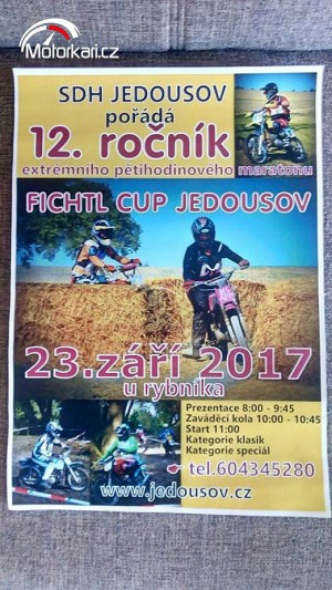 Fichtl Cup Jedousov 2017