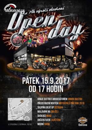 Open Day Harley-Davidson-Ostrava 2017