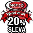 20% sleva k 20. výroèí založení M.C.F. cz!