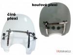 akce Plexi štít na chopper   velké èiré nebo tónované