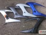 pravý držák blinkru Yamaha FZ6S Fazer r.v. 04  07