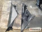 Vnitøní plasty boèních kapot Suzuki GSX-R 1000 K7- K8