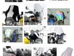 univerzální plexi na naked bike  rùzné barvy a provedení