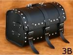 kožené zadní válce - kufry