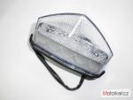 Zadní LED diodové svìtlo èiré pro enduro