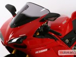Plexi MRA pro DUCATI 848/1098/1198/R/S Racing