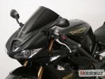 Plexi MRA pro TRIUMPH Daytona 675 09-12 Racing
