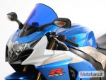 Plexi MRA pro SUZUKI GSX-R 1000 09- Racing