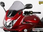 Plexi MRA pro SUZUKI GSF 1250 SA BANDIT 07- Racing