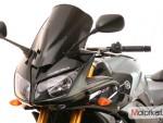 Plexi MRA pro YAMAHA FZ1 Fazer 06- Racing