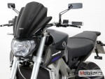 Plexi MRA pro YAMAHA MT 09 14- Racing naked M