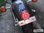 Yamaha XV 535, Virago od r.1988 až 2003 Zadní svìtlo LED..