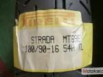 Pirelli strada, 100/90-16 ,pøední pneu nové .