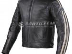 Bunda na motorku Tschul 640 èerno-béžová