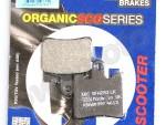 Pøední brzdové destièky EBC SFA283 organické Suzuki Burgman