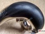Karbonový kryt výfuku-KTM 2T 250/300 EXC