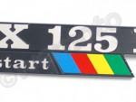 Štítek Piaggio Vespa PX 125 E  198179
