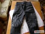 Koženné moto nohavice
