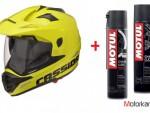 Enduro helmy Cassida Tour ÈR s UV clonou  zdarma Motul