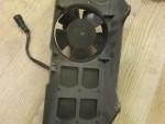 Ventilátor / sahara + kryt / deflektor chladièe