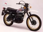 Yamaha XT 500 díly