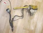 Zadní brzdová pumpa + brzdový tømen + hadice + nádobka