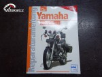Yamaha XV 1100,75O Virago Originální Velký Manuál..