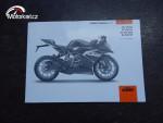 KTM RC 125,200 Originál Manuál..