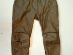 Kožené kalhoty dámské frank thomas vel.42 pas88cm