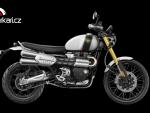 Triumph Scrambler 1200 XE - SLEVA Z CENY MOTOCYKLU 12.200,-K