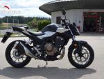 Honda CB 500 FA 2019 1.majitel,koupeno nové v ČR,35kw AKCE-S