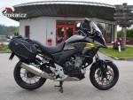 Honda CB 500 X 2015 koupena nová v ČR,servisní knížka, 35kw