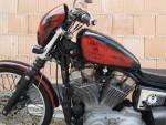 Harley Davidson XL 883, Jack Daniels