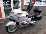 BMW R 1150 RT ABS stříbrná, 3x kufr, servisní historie