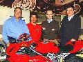 Loris poprvé oficiálnì v Ducati