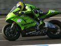 Oba jezdci Kawasaki na bodech
