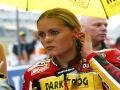Katja testovala motocykl MotoGP